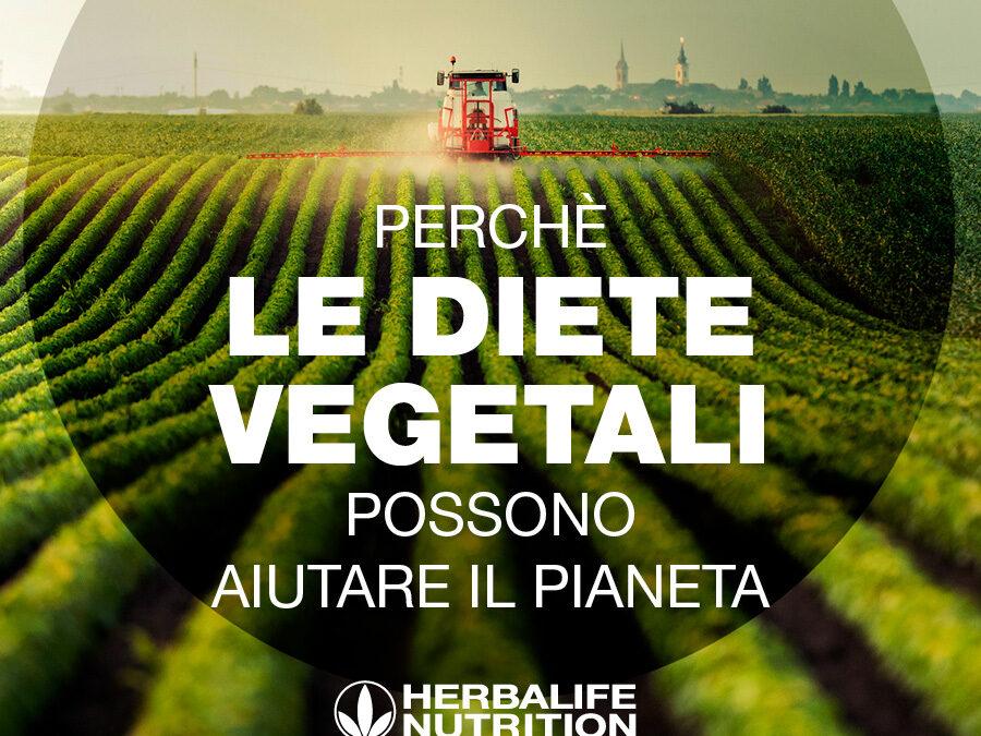 Perchè le diete vegetali possono aiutare il pianeta